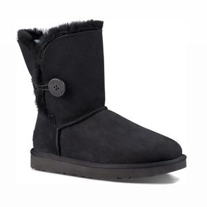 UGG | Black Bailey One Button Boots